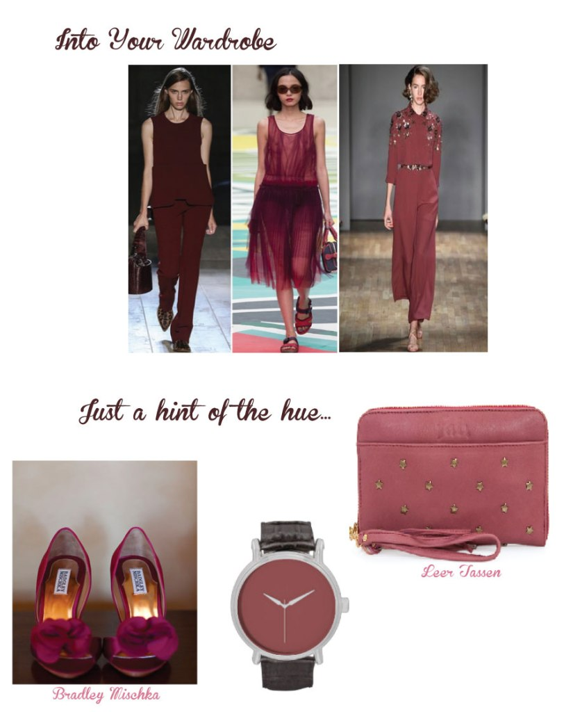 Creative Flow Co :: Marsala Wardrobe Inspiration