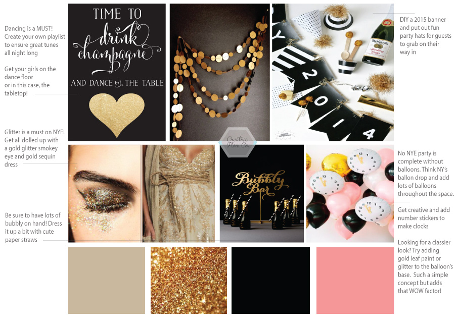 Creative Flow Co. :: New Year Eve Inspiration