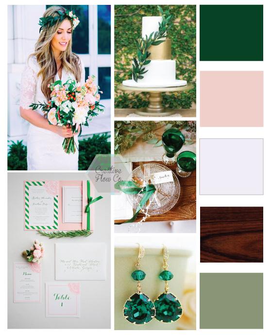 Creative Flow Co :: Bay Area Event Design :: Oakland Wedding Planner :: Emerald Wedding Inspiration